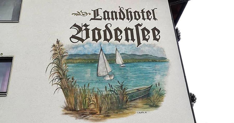 Landhotel Bodensee ind Wallhausen am Bodensee